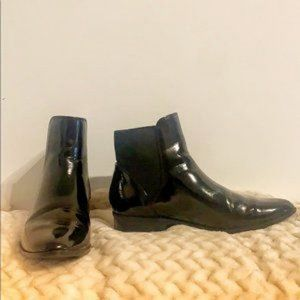ALDO➖Booties Vegan Patent Leather size 7.5